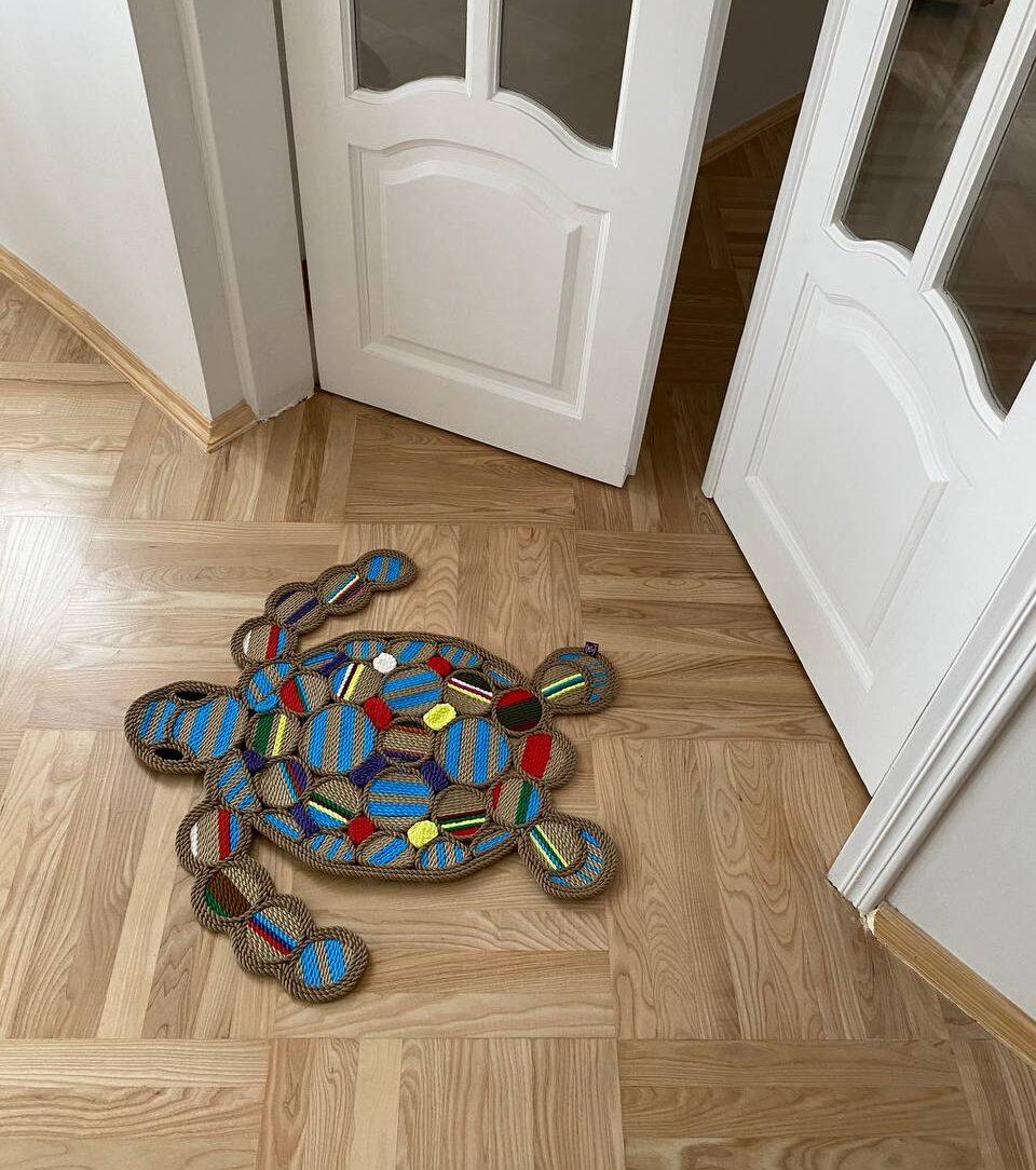 Rope Art Turtles